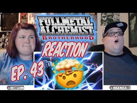 "Fullmetal Alchemist: Brotherhood Episode 43 REACTION!! ""Bite of the Ant"""