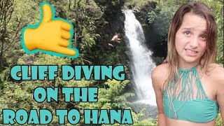 cliff diving on the road to hana wk 343 7   bratayley