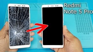 Redmi Note 5 PRO- LCD Screen +Touch Screen Digitizer Replacement /Redmi Note 5 Pro LCD Replace