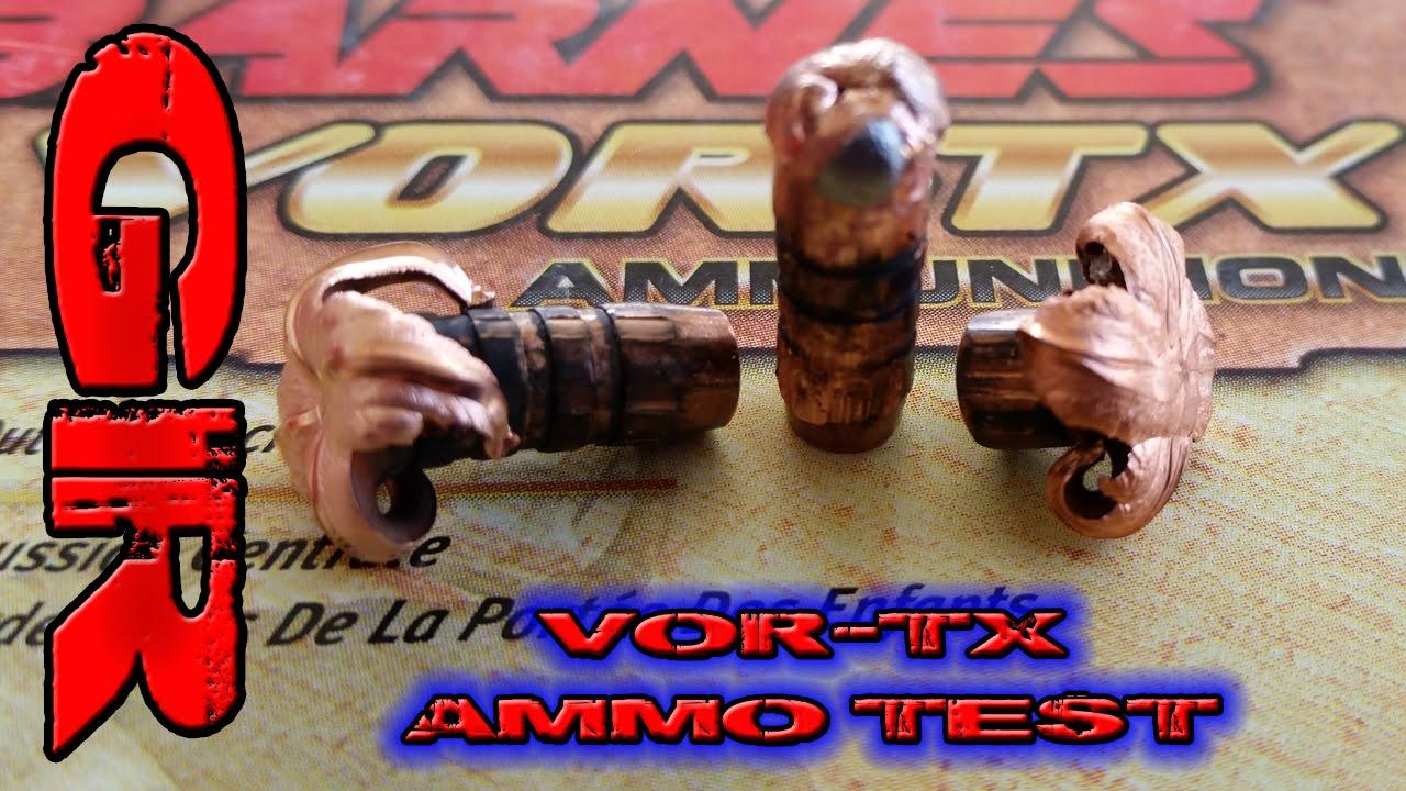 Best 5.56 Ammo Part 5 - Barnes 70gr, 62gr VOR-TX - YouTube