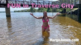 Margo James adventures in Traverse City!