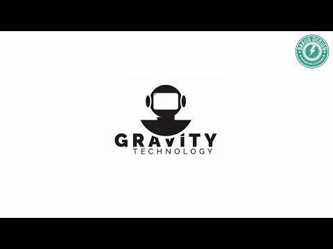 Illustrator LOGO Tutorial - Gravity