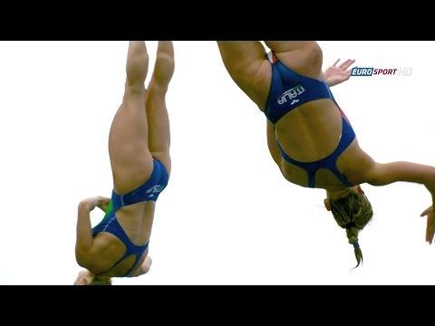 Barcelona2013 Women's 3m synchro final