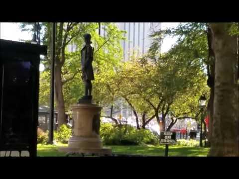 Nathan Hale Statue - City Hall Park, NYC