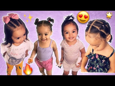 4 Easy Hairstyles For Little Girls🌷 1