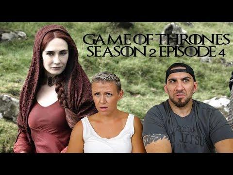 Game Of Thrones Season 2 Episode 4 'Garden Of Bones' REACTION!!