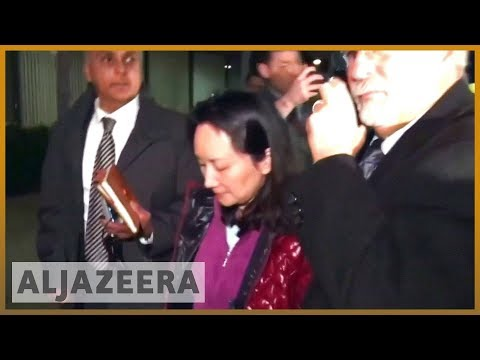 🇺🇸 🇨🇳 US charges China's Huawei, top executive with bank fraud | Al Jazeera English