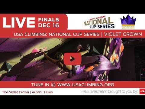 The 2017 Violet Crown at Crux Climbing Center • USA Climbing National Cup Series