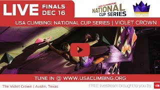 The 2017 Violet Crown at Crux Climbing Center • USA Climbing National Cup Series thumbnail