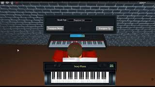 Sad! - ? by: XXXTentacion on a ROBLOX piano.