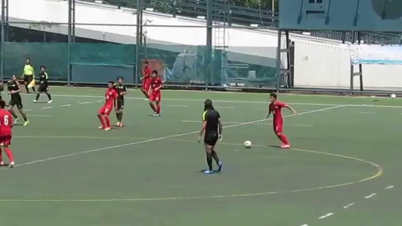 元朗vs港隊U18(2015.8.11.香港足球季前熱身賽)精華 - YouTube