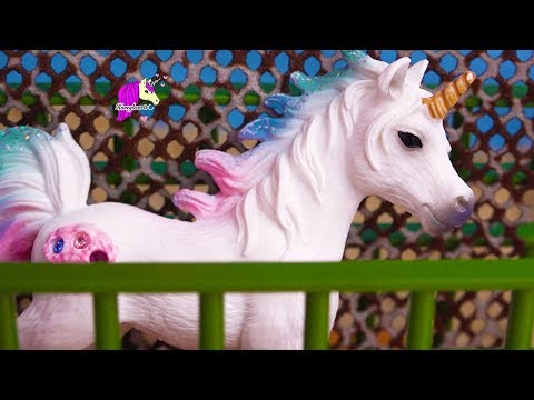 Sea Star Unicorn ! Schleich Horse Summer Video Series Part 3