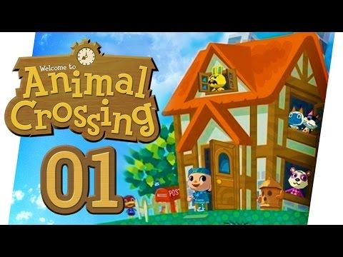 WIE ALLES BEGANN ♥ ANIMAL CROSSING • #01 • LET'S PLAY ANIMAL CROSSING