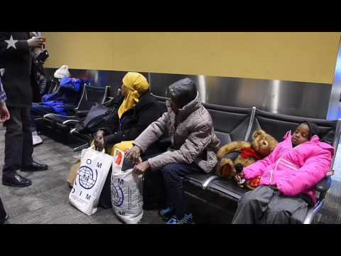 Somali refugees finally arrive at new home in Kansas City