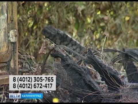 В сгоревшем биотуалете на улице Павлика Морозова обнаружено тело мужчины