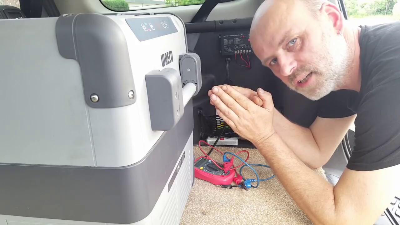 Auto Kühlschrank Einbauen : Kühlbox autark im auto betreiben ↓☆klapp auf☆↓ youtube