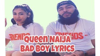 Queen Naija - Bad Boy Lyrics (Official Audio)
