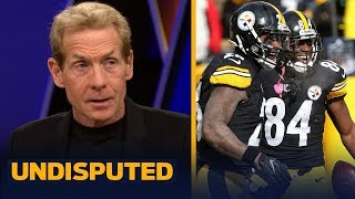 Skip Bayless: Big Ben will be on 'more of a hot seat' with AB & Le'Veon Bell gone | NFL | UNDISPUTED