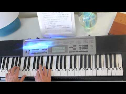 How to Play ~ I Have A Dream ~ ABBA ~ LetterNotePlayer ©