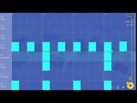 画像2: 11 クラップを入れてみる バレッドプレス KORG Gadget for Nintendo Switch講座 www.youtube.com