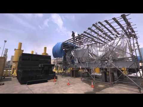 Gas Turbine Change at Nigeria LNG's Bonny Plant