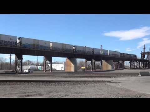 Kansas City Railfanning January 26, 2014