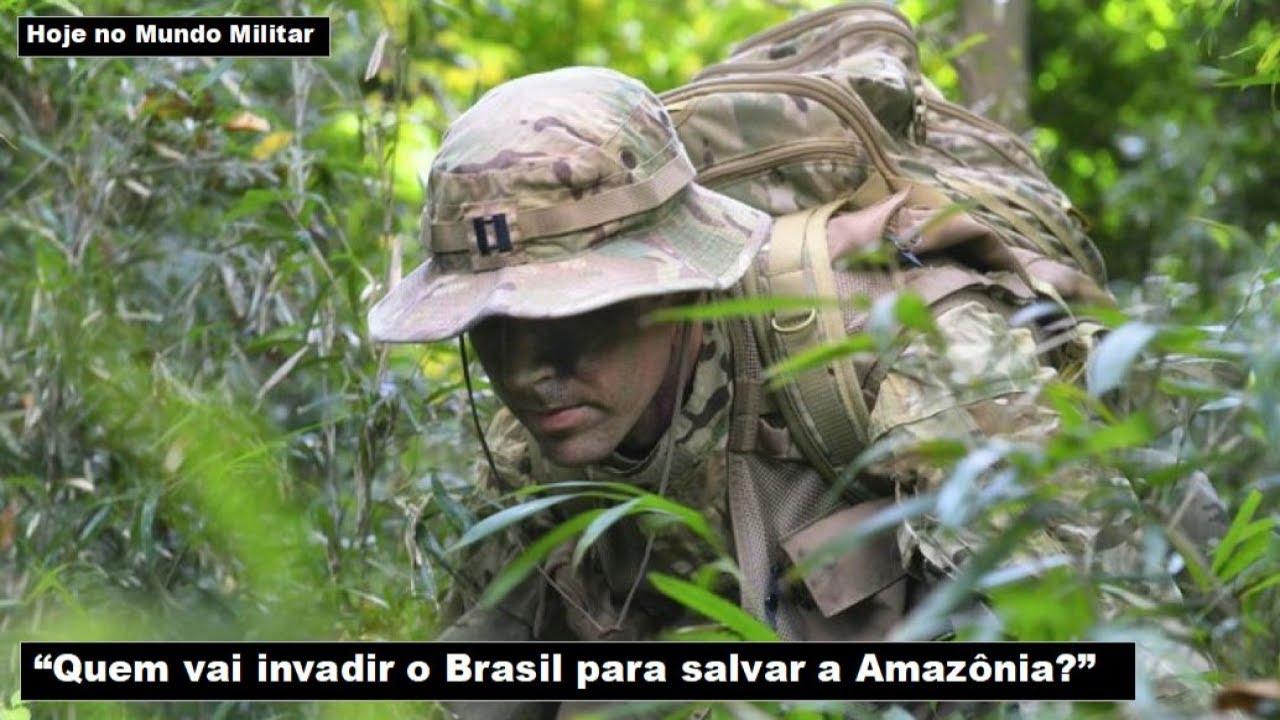 """""""Quem vai invadir o Brasil para salvar a Amazônia?"""""""