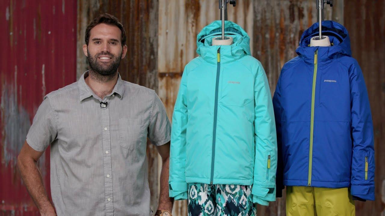 b6b75ae78 Patagonia Boys' Snowshot Jacket & Girls' Snowbelle Jacket - YouTube