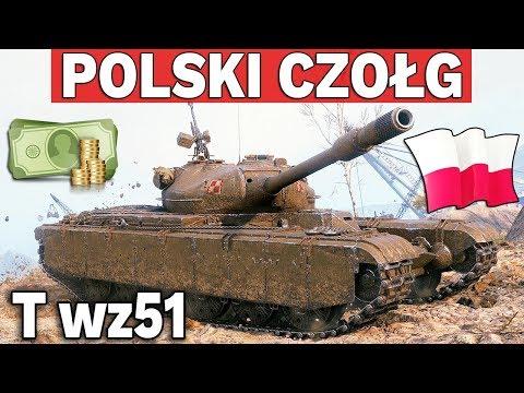 POLSKI CZOŁG PREMIUM UKRYTY W GRZE - World of Tanks