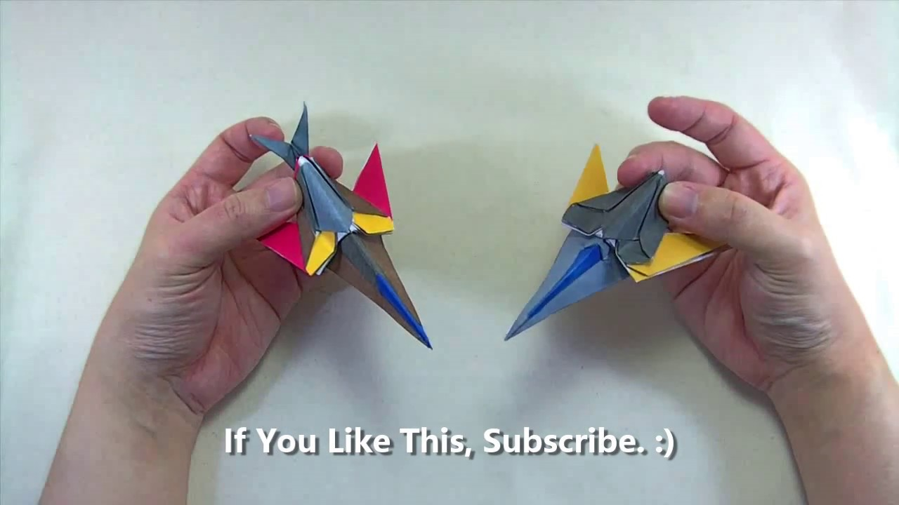 How to make a papercraft origami transformer spaceship requires how to make a papercraft origami transformer spaceship requires 1 straight cut jeuxipadfo Images