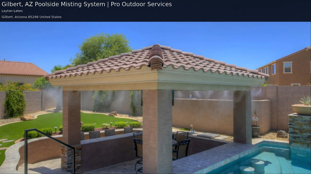 Gilbert Misting System Installation   Pro Outdoor Services