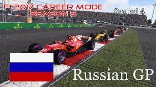 F1 2017 Career Mode: Season 5 - Russian GP