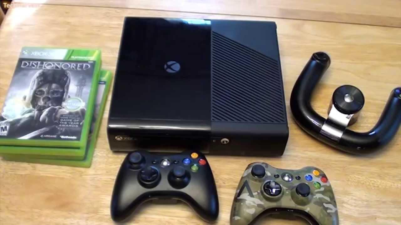 Xbox 360e Unboxing - YouTube