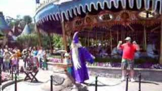Disneyland Fantasyland Sword in the Stone Pt 2 CLIP 06/11/06