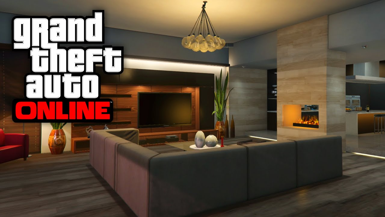 GTA 5 Online NEW Houses Apartment Customizations Interiors Tour