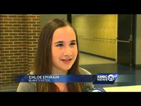 Olathe High School community rallies around student recovering from stroke