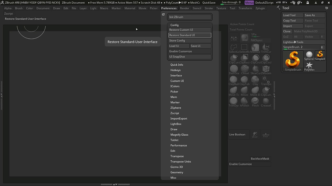 ZBrush UI Customization     Related to Screen Resolution?