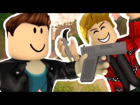 ROBLOX MURDER - MY FRIEND IS A PSYCHO KILLER