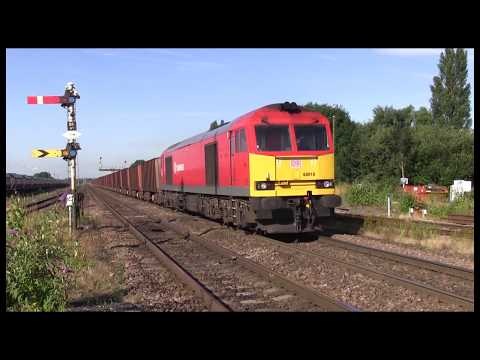 Rail Freight activity during a day at Barnetby & Brocklesby Junction in North Lincolnshire (2015)