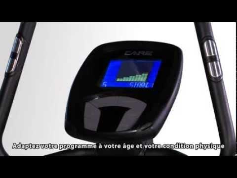 Compteur du velo elliptique ergos iv par care fitness youtube - Compteur velo elliptique ...