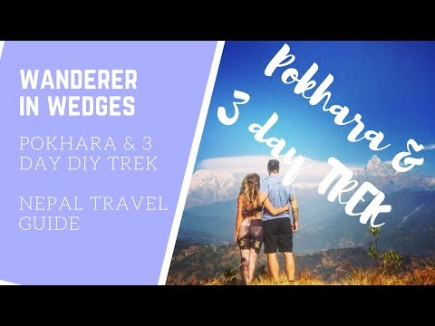 Pokhara and 3 Day DIY  TREK around the Foothills of the Himalayas *** Vegans in Nepal Travel Vlogs