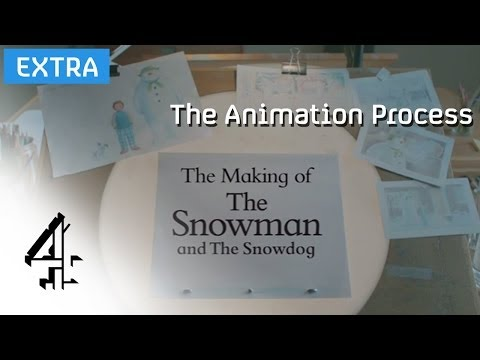 The Snowman and The Snowdog: The Making Of | The Animation Process (Ep.2) | Channel 4