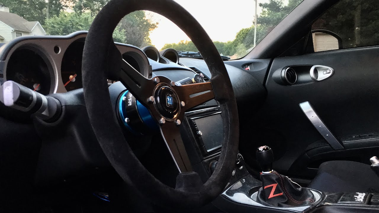 Nardi Steering Wheel/ NRG Quick Release Install on the ...