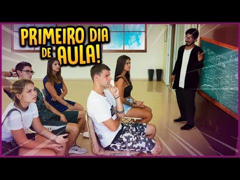 PRIMEIRO DIA DE AULA!! - DIÁRIO DE ADOLESCENTE #4 [ REZENDE EVIL ]