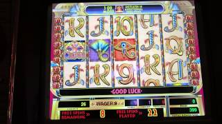 Cleopatra $1 slot with re-trigger-big win-IGT