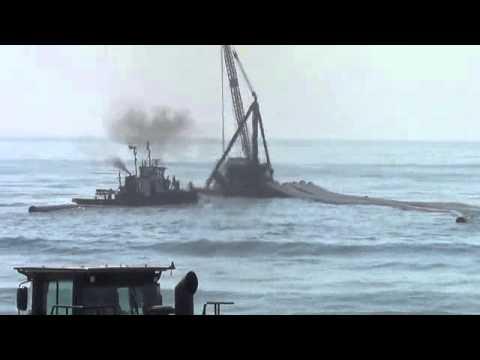 201307 Stone Harbor - Dredging Equipment Removal