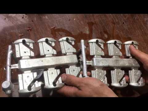 Зависимость качества алюминиевого литья от скорости заливки металла