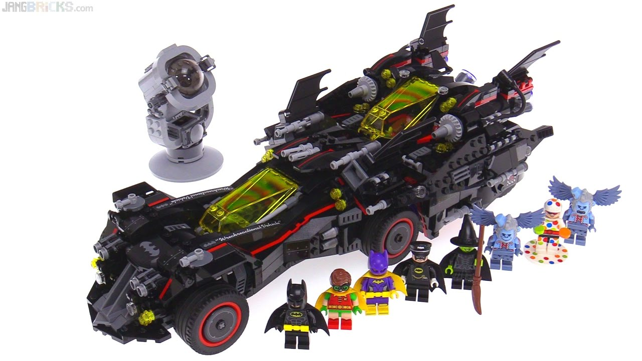 LEGO Batman Movie Ultimate Batmobile review! 70917 - YouTube
