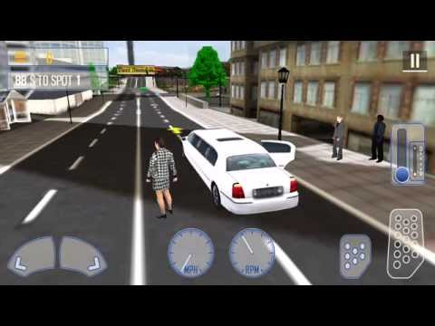 Limo city driver d gameplay walkthrough for androidios