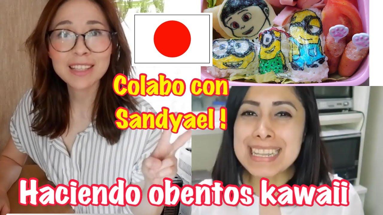 juntas otra vez colaboracion Mayra - sandyael+ prepara ricos obentos